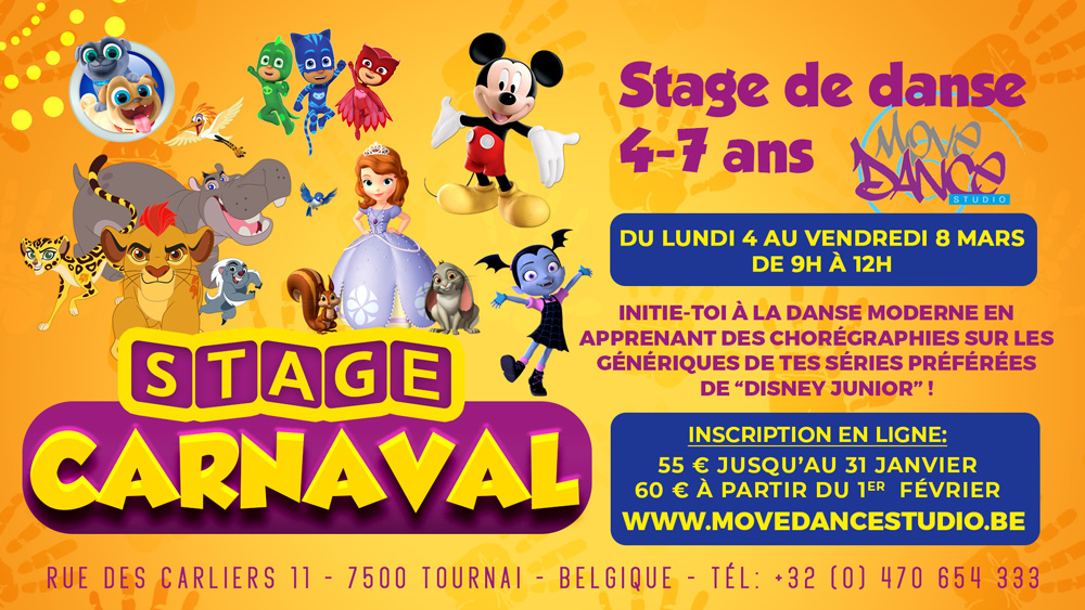 stage-carnaval-4-7-ans-disney-junior